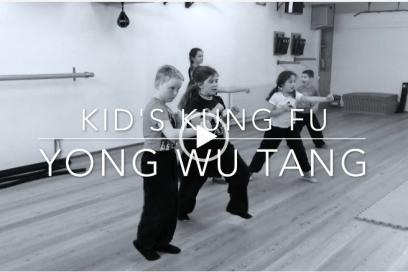 Kung Fu Kids trainieren fleissig