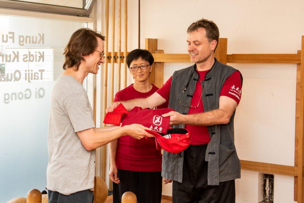 Neuer Taiji Quan Instruktor