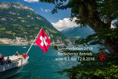 Sommerferien reduzierter Betrieb