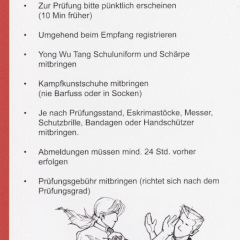Prüfungen Kinder & Jugend Kung Fu